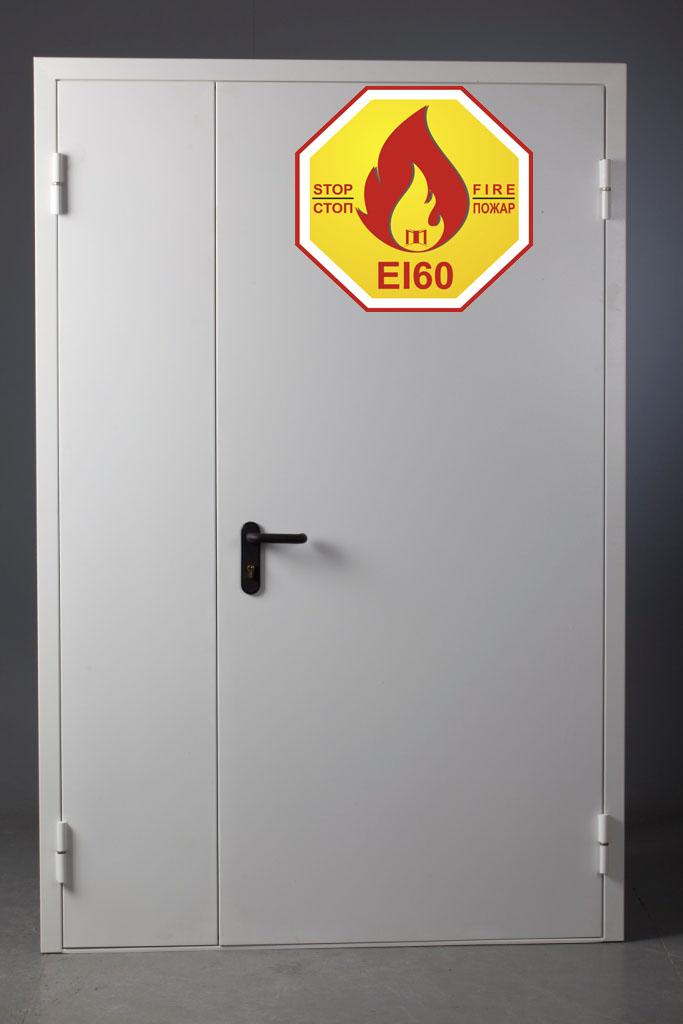 Противопожарные двери EI-60 от производителя