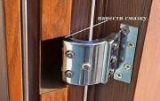 Почему скрипит металлическая дверь и как с этим бороться?