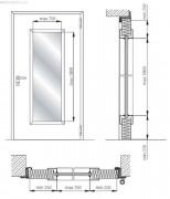 Размеры противопожарных дверей - какие бывают?