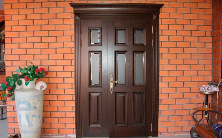 Двери морозостойкие (непромерзающие) в дом или коттеде