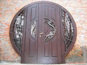 Установленная дверь ЭЛИТ класса 1