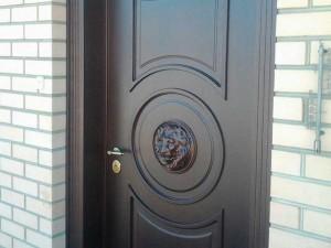 Установленная дверь ЭЛИТ класса 2