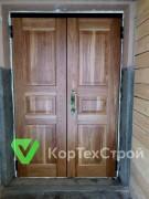 Дубовые двери в Московскую Мэрию