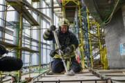 Московские огнеборцы провели уникальное пожарно-тактическое учение на башне «Восток» в «Москва-Сити»