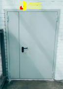 Противопожарные однопольные двери ДПС-1 EI-60 и противопожарные  двупольные двери ДПС-2 Ei-60