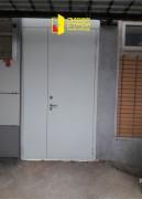 Противопожарная двупольная дверь, вид 1
