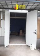 Противопожарная двупольная дверь, вид 1 открыта