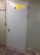 Противопожарная двупольная дверь, вид 2