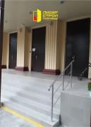Противопожарная, нестандартная, двупольная дверь с фрамугой, вид 1