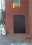Противопожарная дверь нестандартного размера и цветового исполнения установлена!
