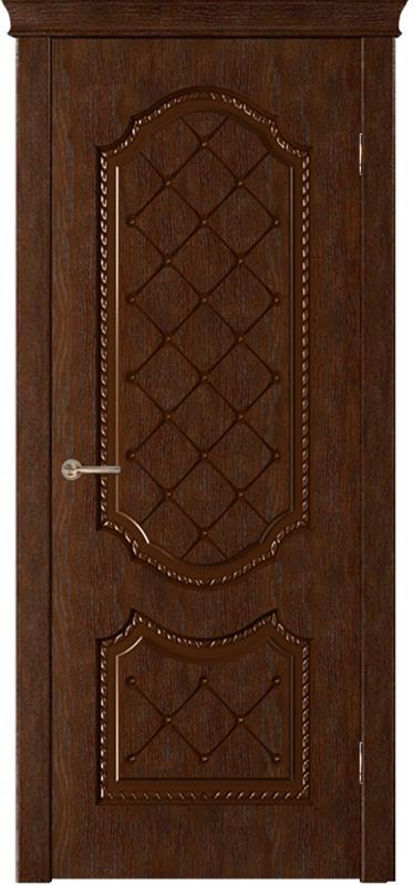 Шпонированные двери классика «Флер»