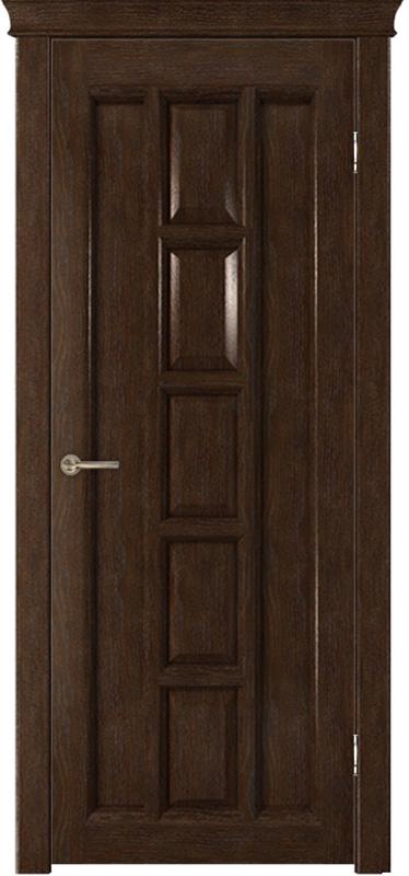 Дверь межкомнатная со шпоном «Квадра»