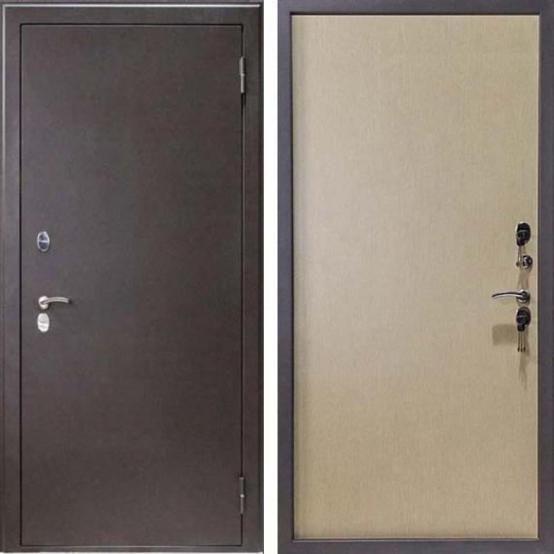 """Дверь с терморазрывом МДФ """"Светлая бронза"""""""