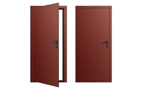 Дверь для бытовки левое открывание