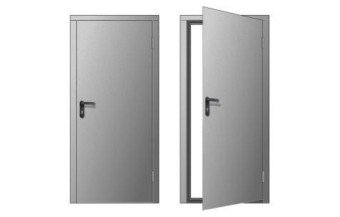 Дверь для строительных бытовок