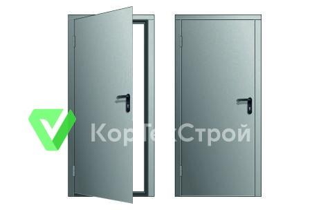 Дверь входная металлическая для бытовки