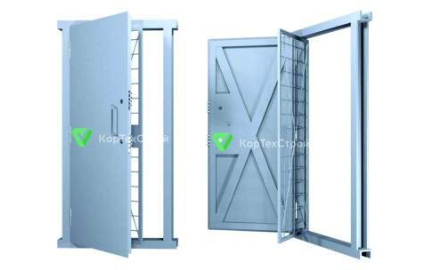 Решетчатая дверь КХО