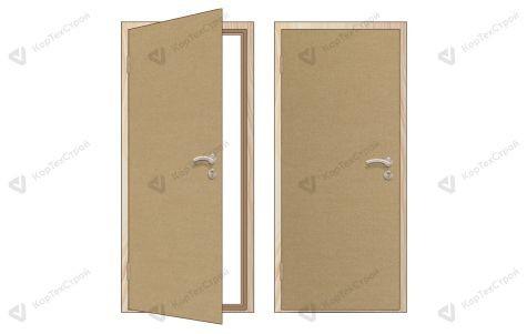 Оргалитовая дверь левое открывание