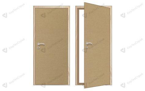 Оргалитовая дверь правое открывание