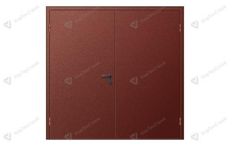 Дверь техническая двупольная