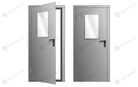 Техническая дверь RAL 7035