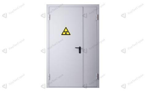 Дверь в рентген-кабинет полуторная