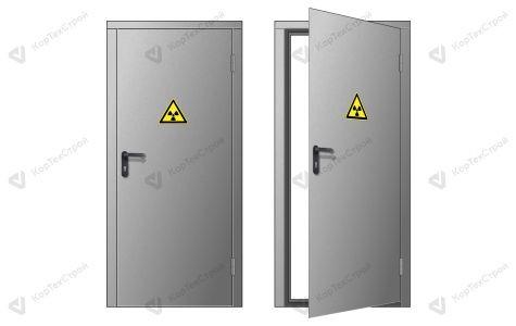 Дверь в рентген кабинет правая