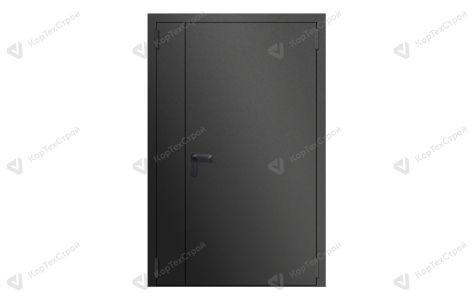 Полуторастворчатая дверь EI-60 ДПМ-2 нестандартный RAL