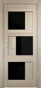 Двери экошпон «Баден 10» со стеклом лакобель