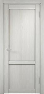 Двери белые экошпон «Баден 3» без стекла