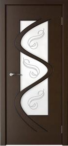 Межкомнатные  двери со стеклом «Вега1»