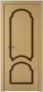 Двери шпонированные дубом «Соната»