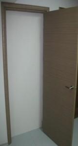 Дверь из вспененного ПВХ